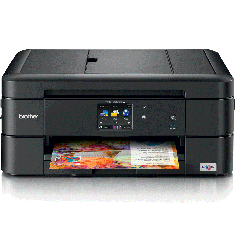 MFC-J680DW Compact A4 Inkjet Printer 2