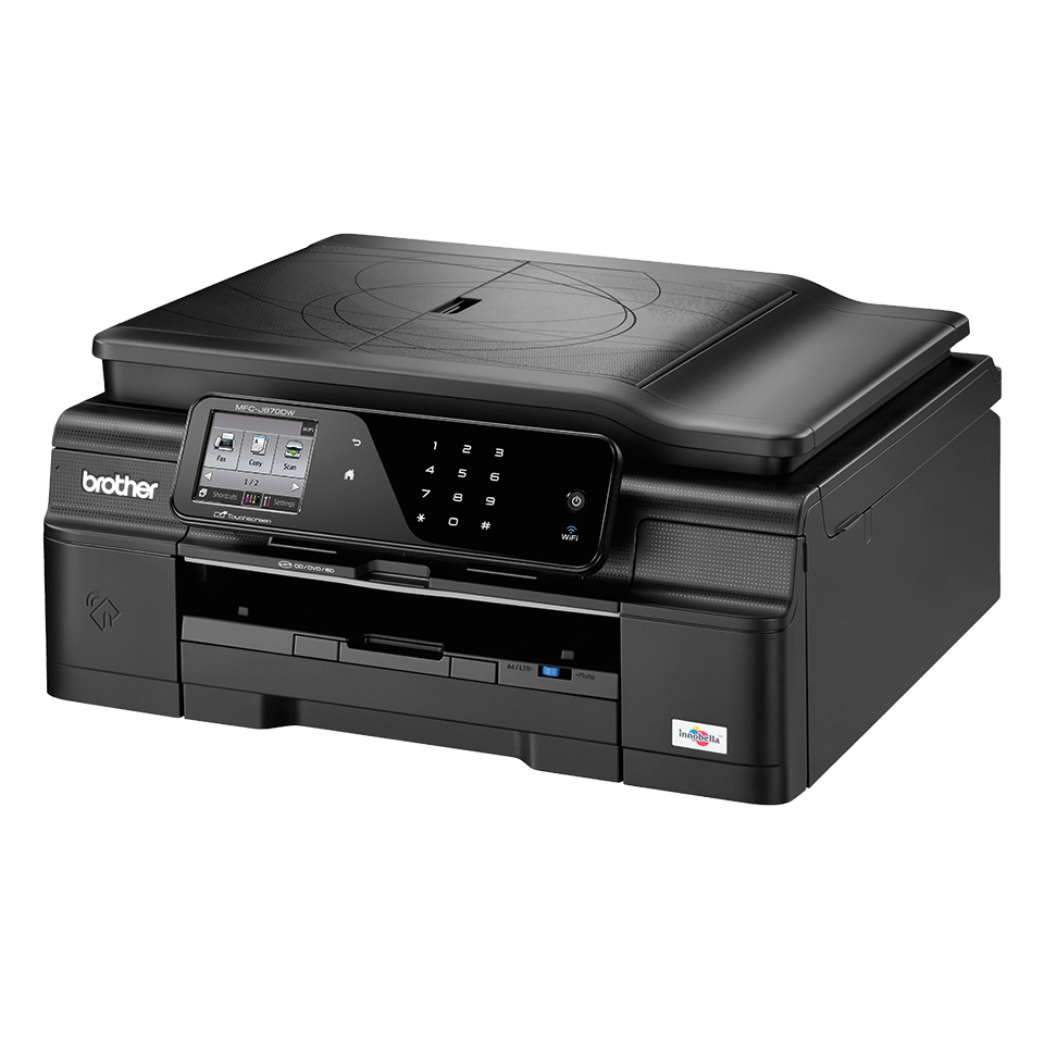 MFC-J870DW All-in-One Inkjet Printer + Duplex, Fax, NFC and Wireless