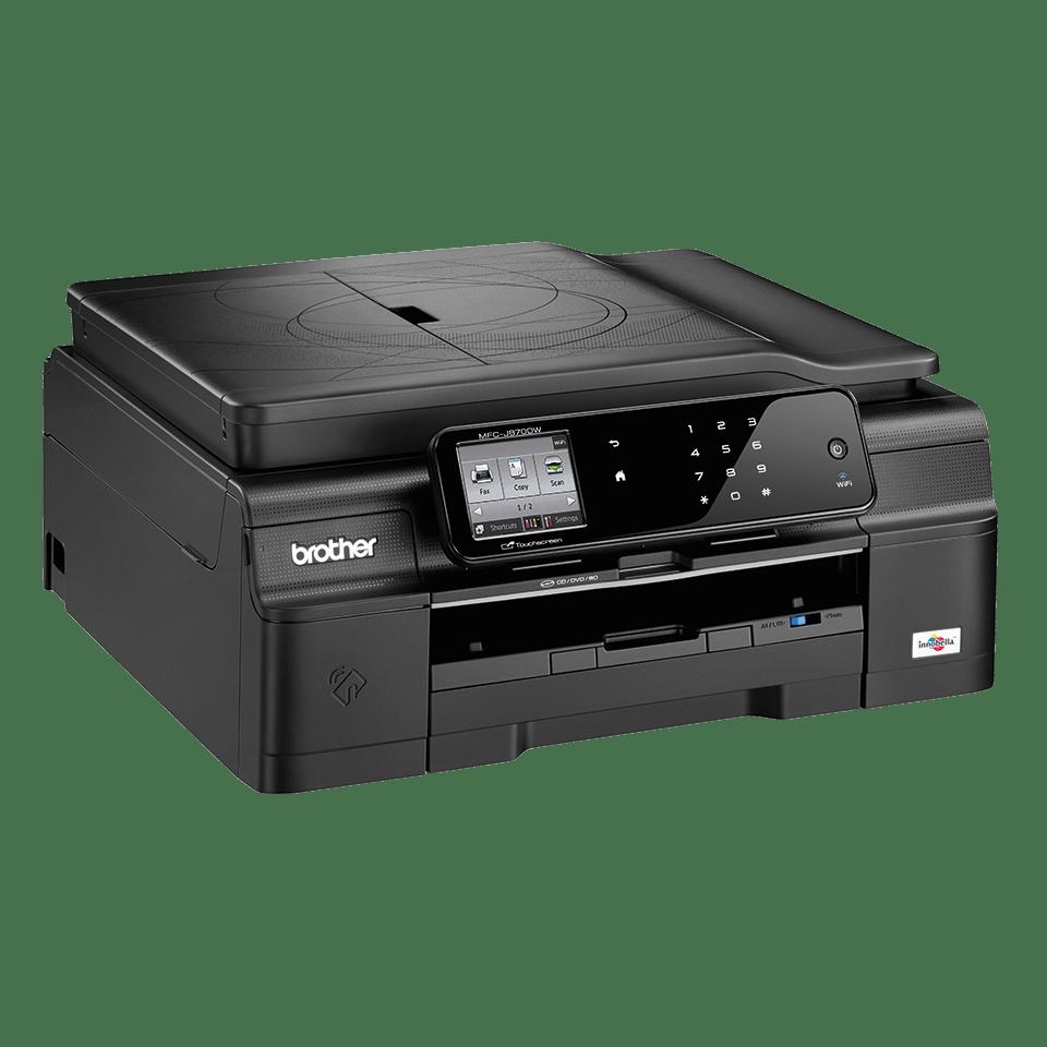 MFC-J870DW All-in-One Inkjet Printer + Duplex, Fax, NFC and Wireless 2