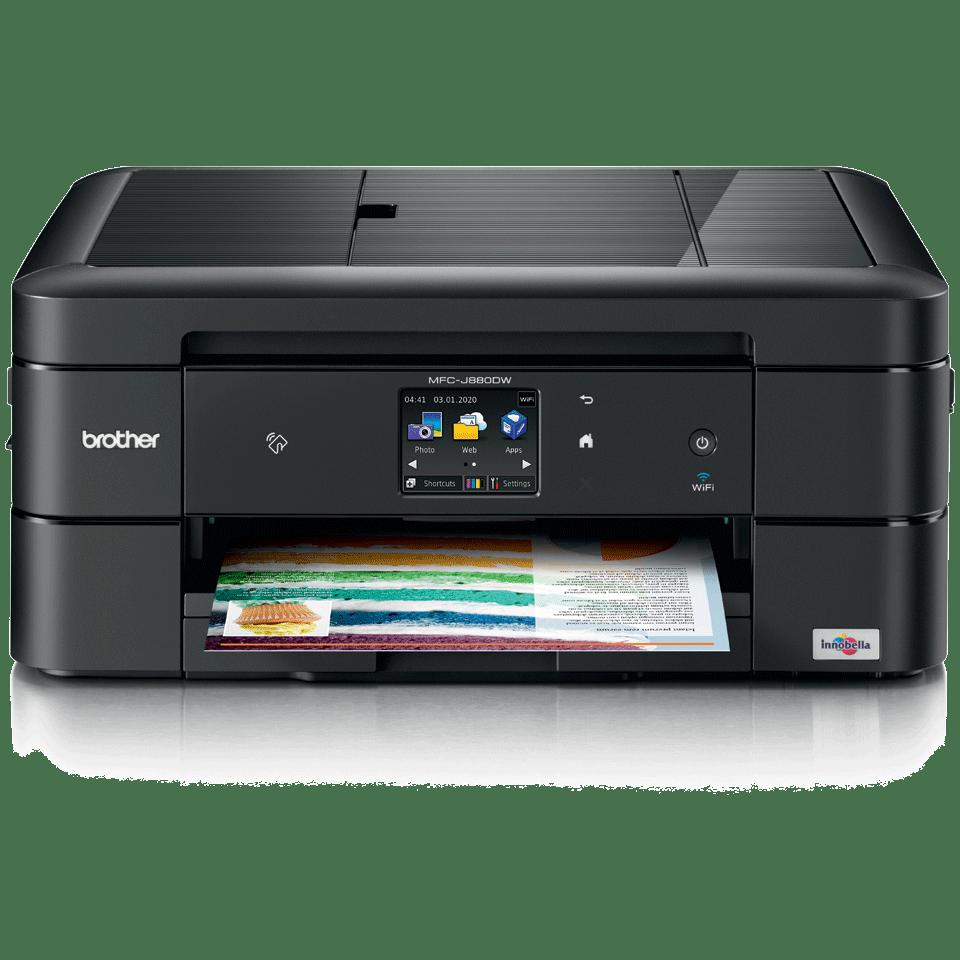 MFC-J880DW Compact A4 Inkjet Printer 2