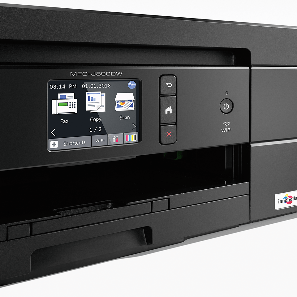 MFC-J890DW Wireless All-in-one Inkjet Printer + NFC 5