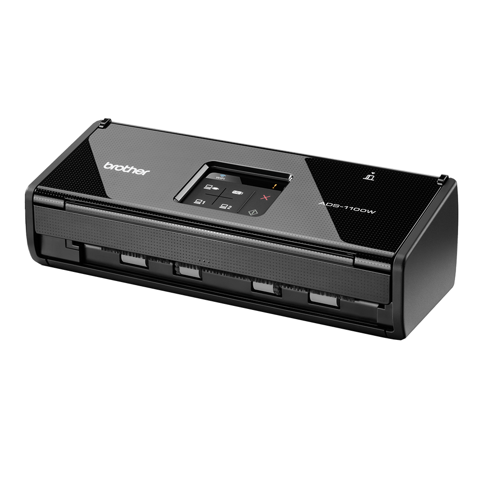 ADS-1100W Compact Document Scanner + Wireless