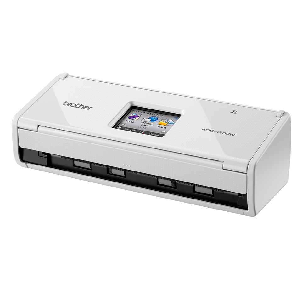 ADS-1600W Compact Document Scanner + Wireless