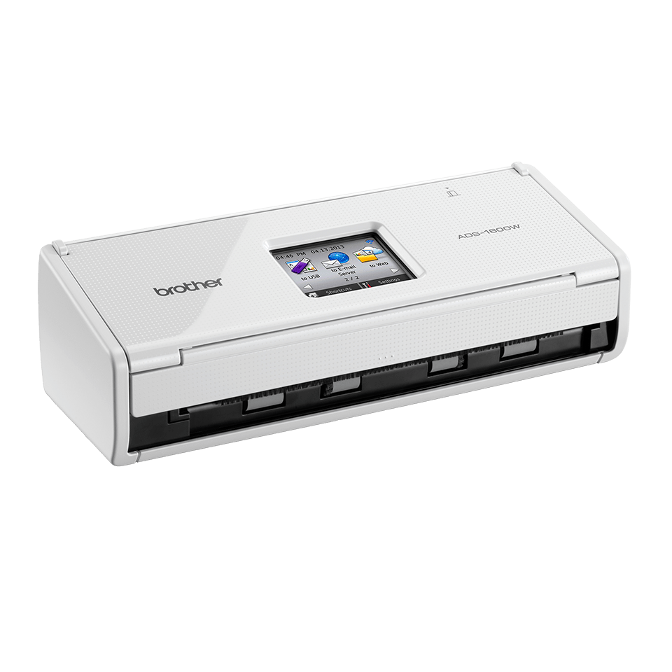 ADS-1600W Compact Document Scanner + Wireless  2
