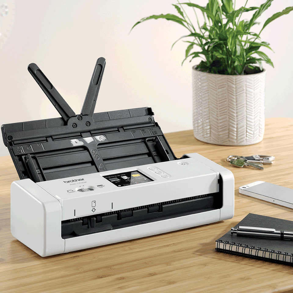 ADS-1700W Wireless, Compact Document Scanner 6