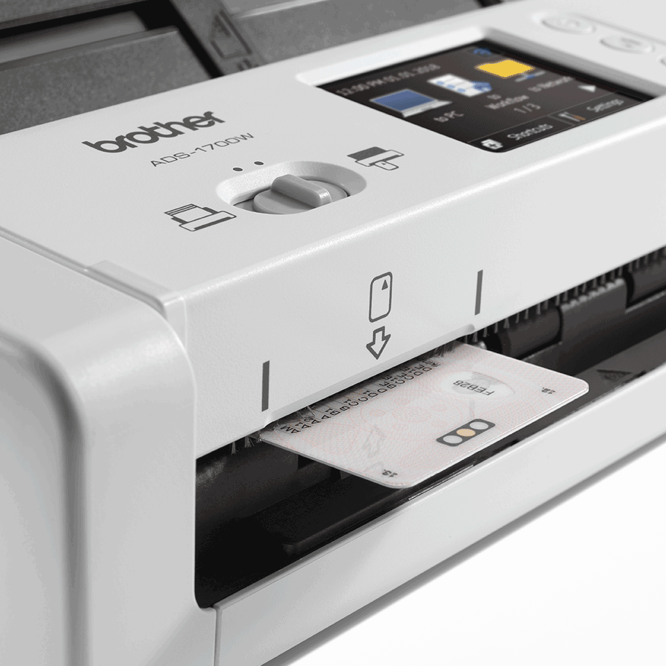 ADS-1700W Wireless, Compact Document Scanner 7