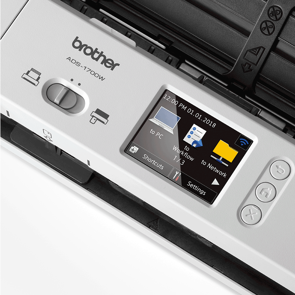 ADS-1700W Wireless, Compact Document Scanner 8