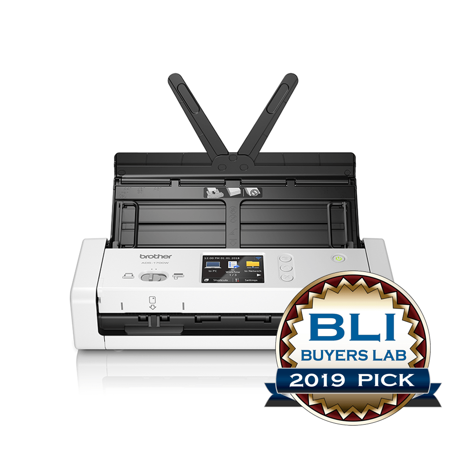ADS-1700W Wireless, Compact Document Scanner