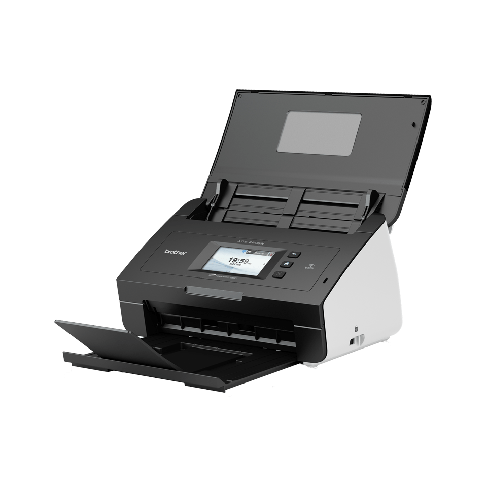 ADS-2600W High-Speed Desktop Scanner + Wireless 4