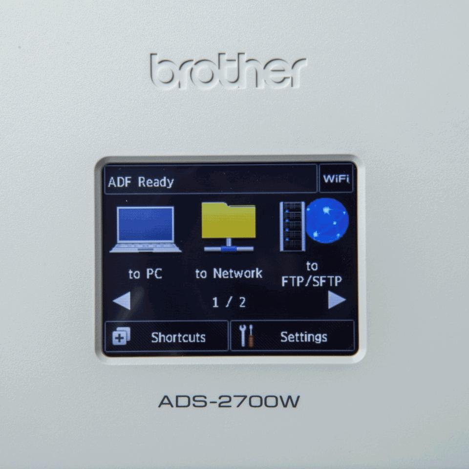 ADS-2700W Wireless Desktop Scanner 7