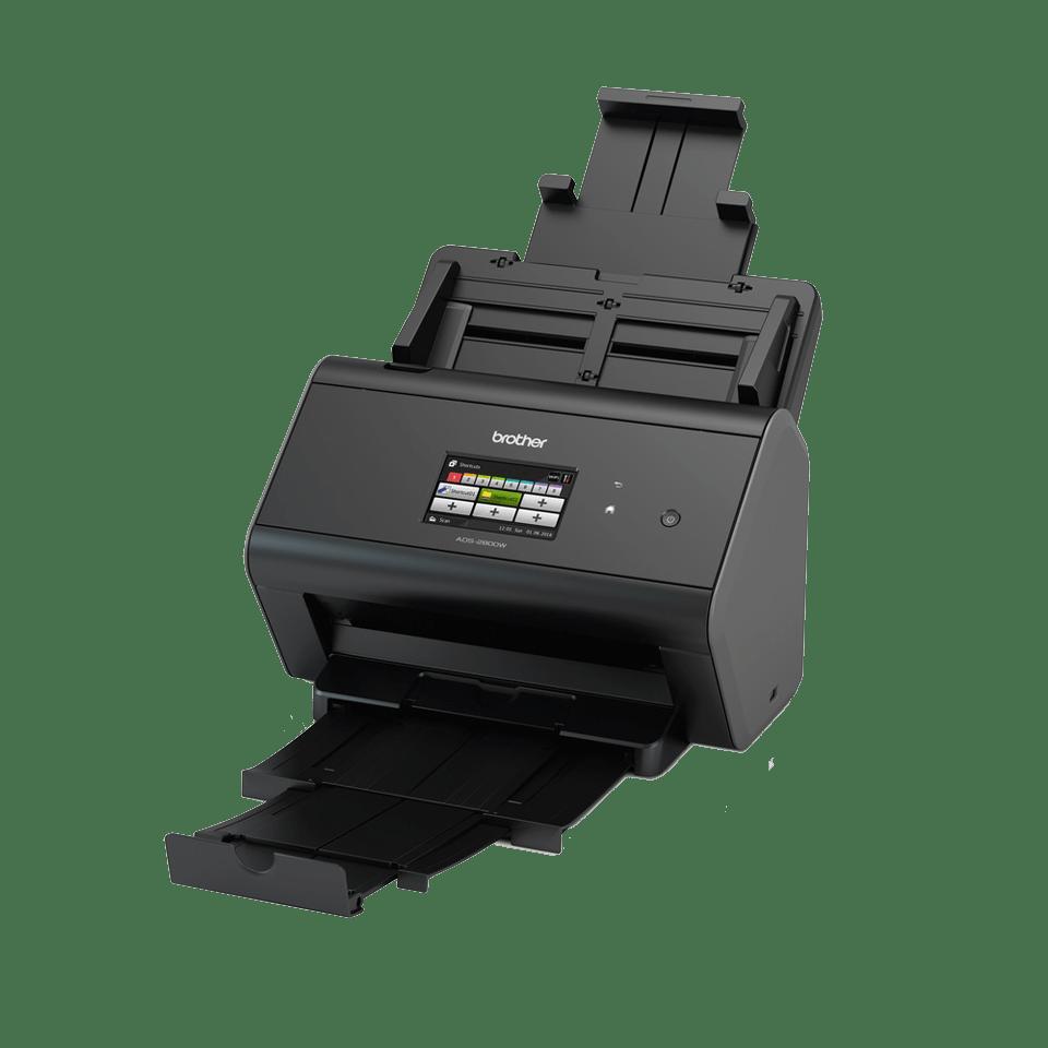 ADS-2800W Wired and Wireless Network Desktop Scanner 2