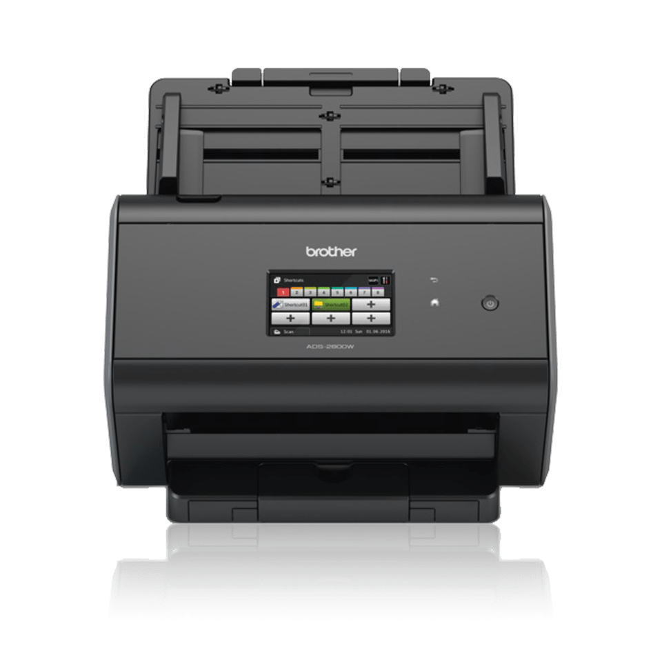 ADS-2800W Wired and Wireless Network Desktop Scanner 5