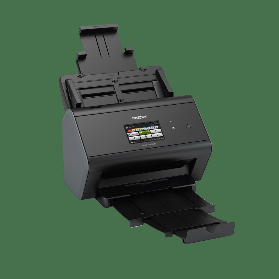 ADS-2800W Wired and Wireless Network Desktop Scanner 3