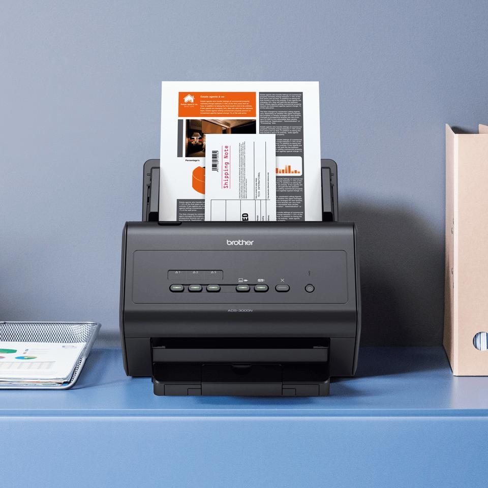 ADS-3000N Fast, Wired Network Desktop Scanner 5