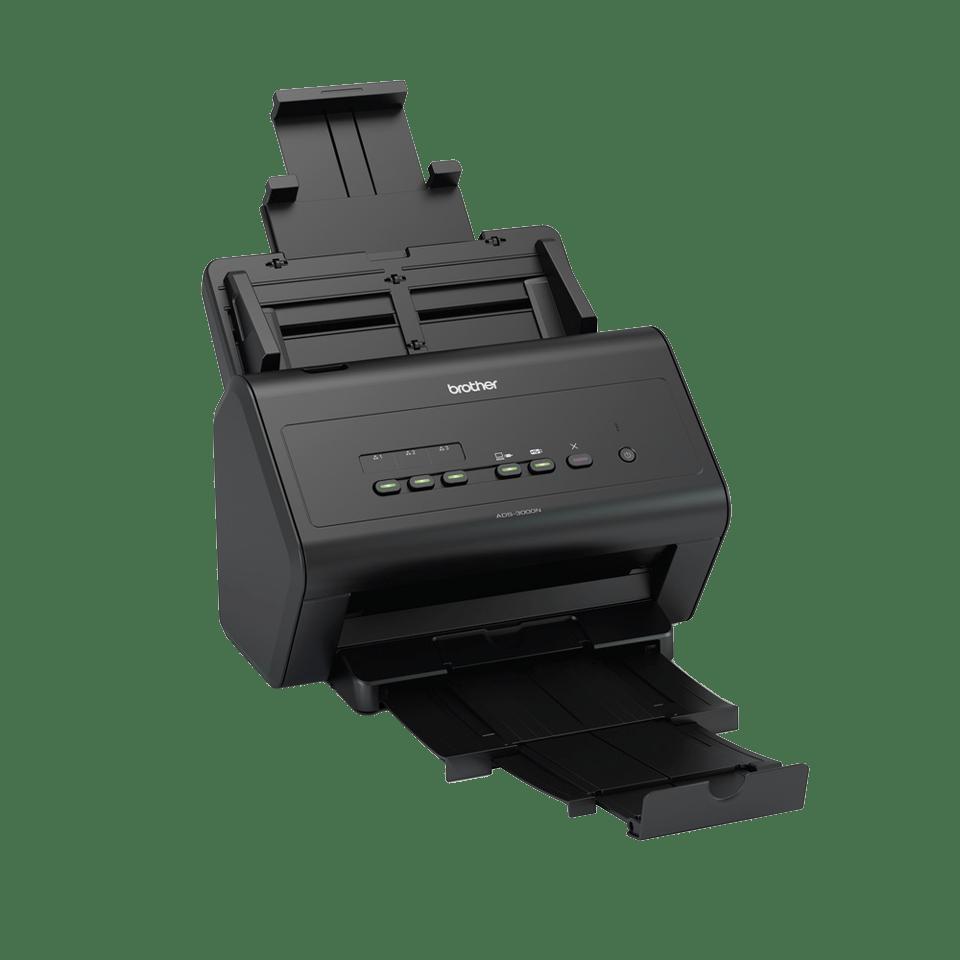 ADS-3000N Fast, Wired Network Desktop Scanner 2