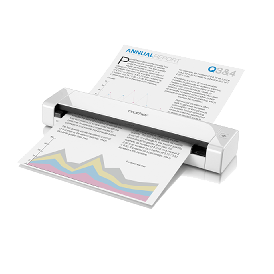 DS-720D Portable Document Scanner