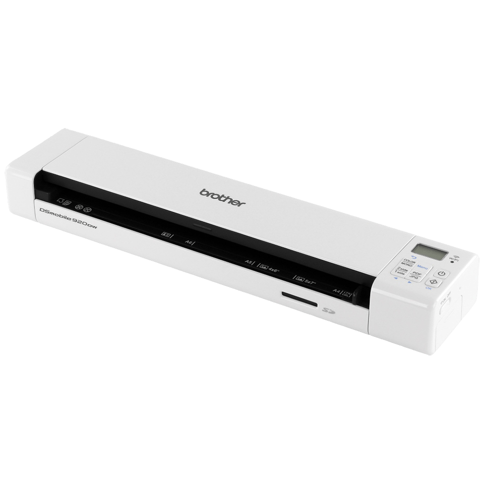 DS-920DW Portable Document Scanner + Duplex + Wireless