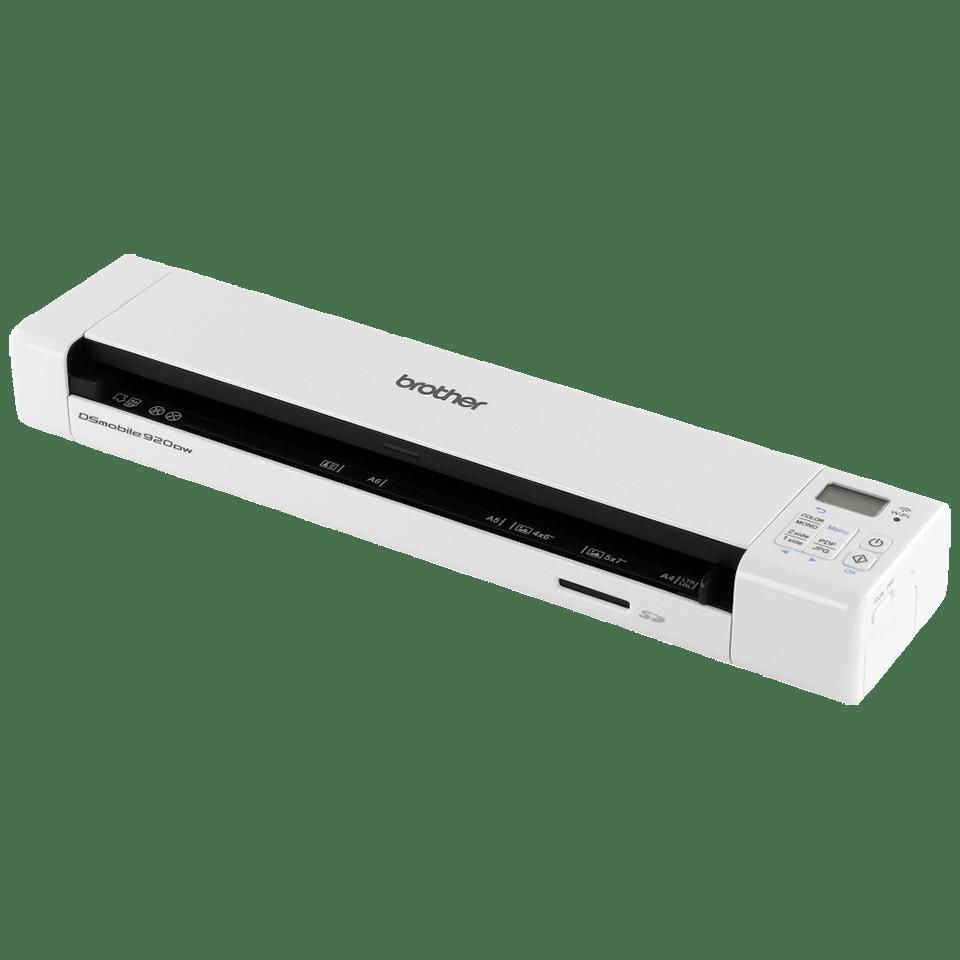 DS-920DW Portable Document Scanner + Duplex + Wireless