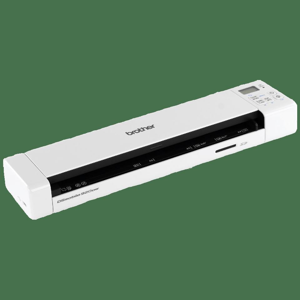 DS-920DW Portable Document Scanner + Duplex + Wireless 3