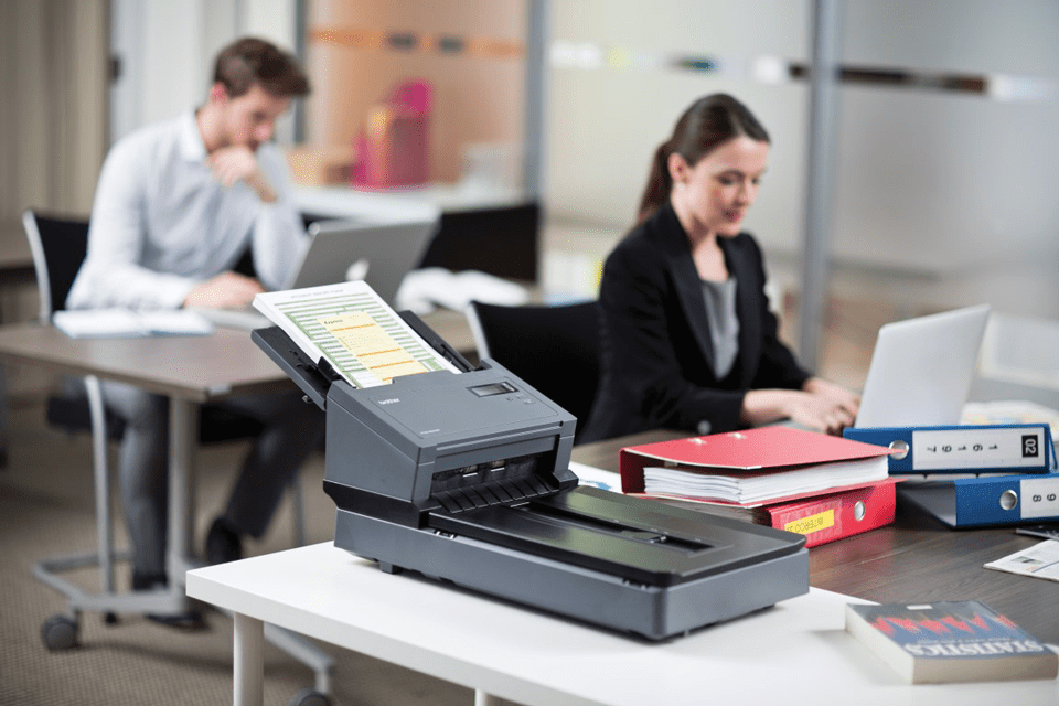 PDS-5000F high-speed document scanner with flatbed 2