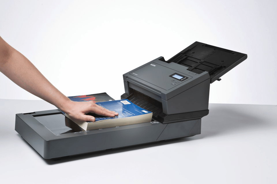 PDS-5000F high-speed document scanner with flatbed 4