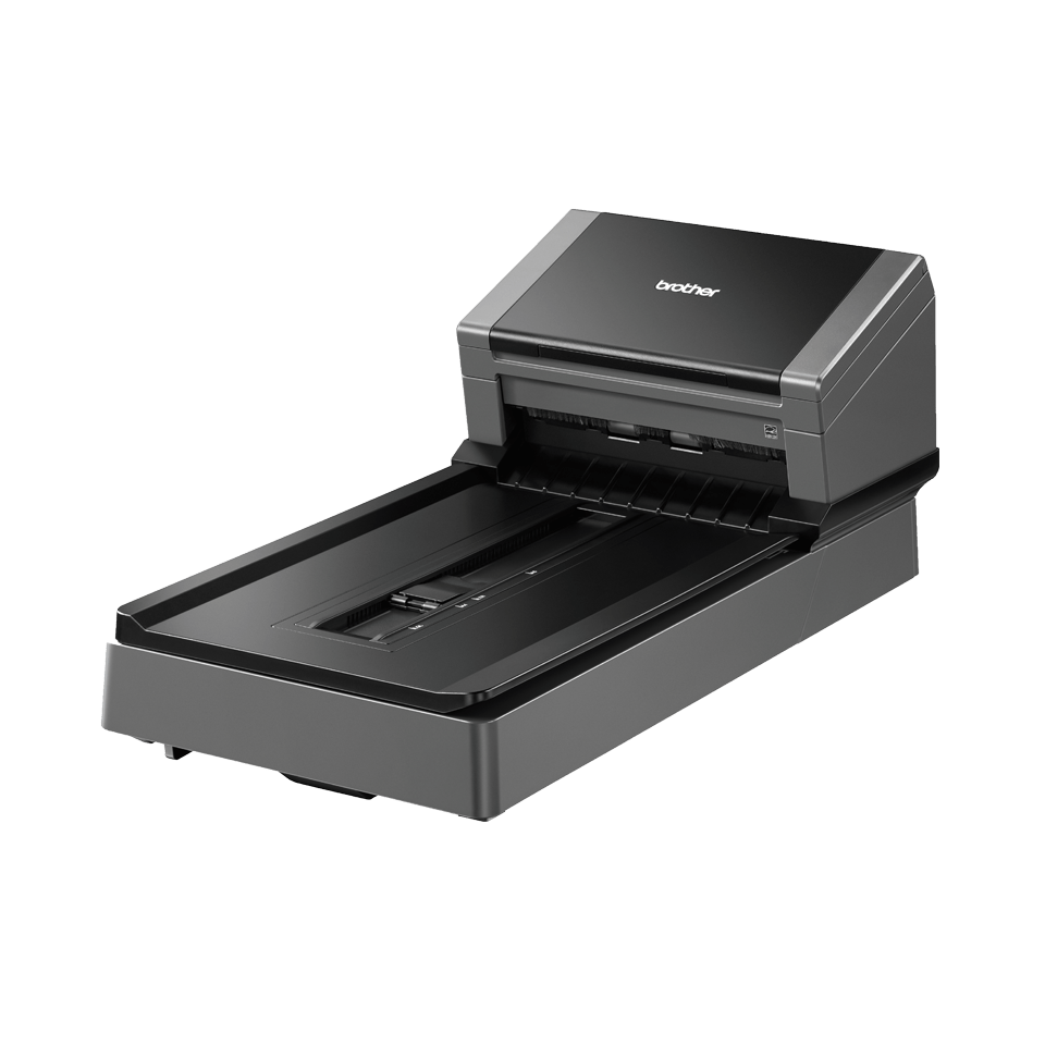PDS-5000F high-speed document scanner with flatbed 3