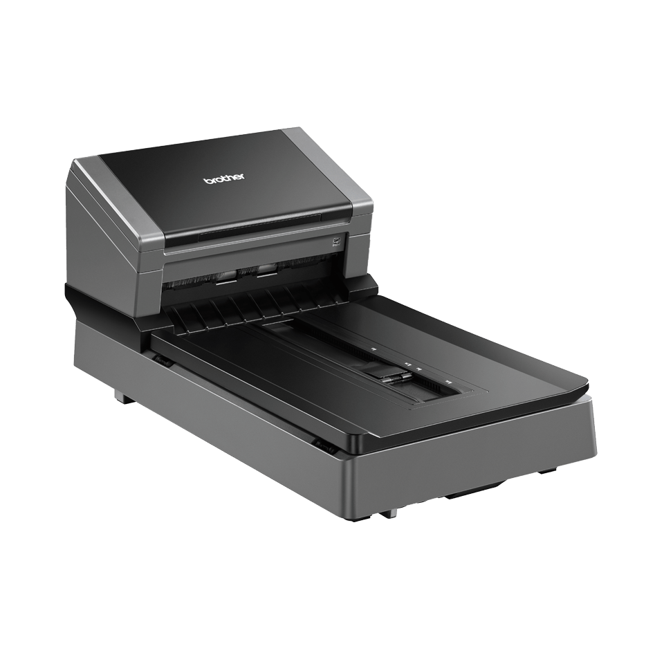 PDS-5000F high-speed document scanner with flatbed