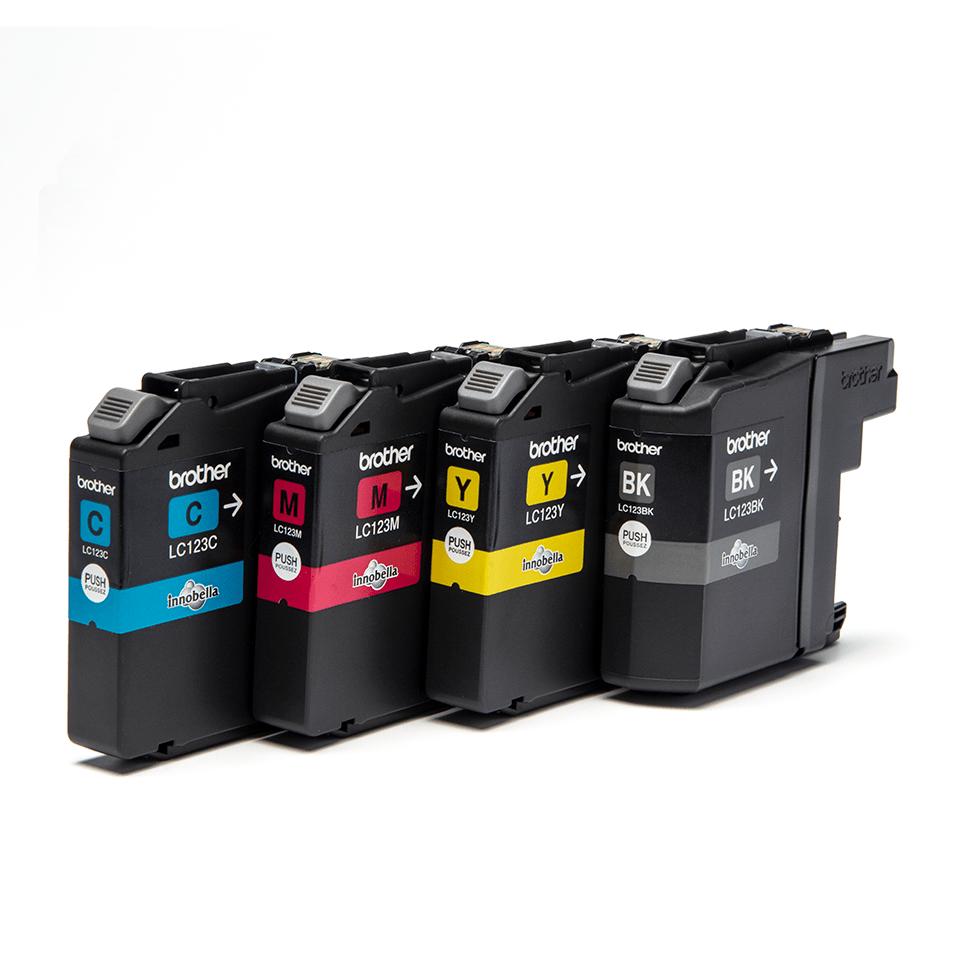 Genuine Brother LC123VALBP Ink Cartridge Multipack 2