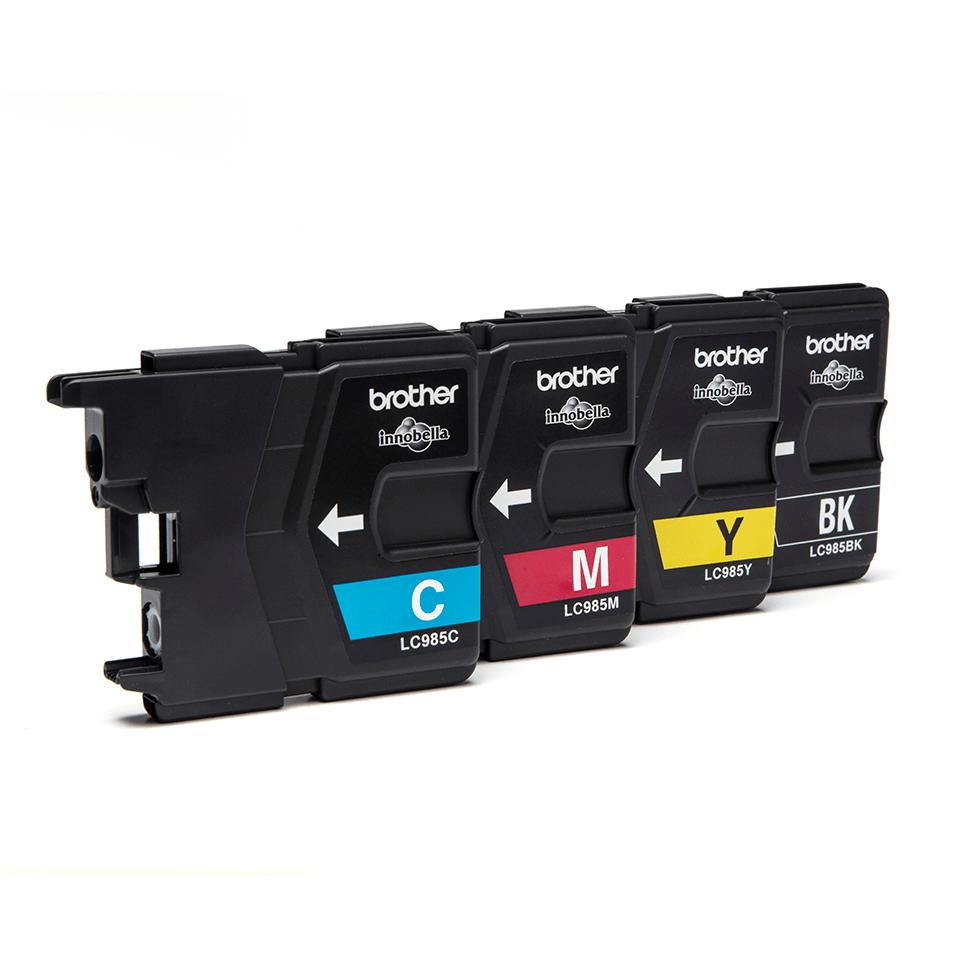 Genuine Brother LC985VALBP Ink Cartridge Multipack 2
