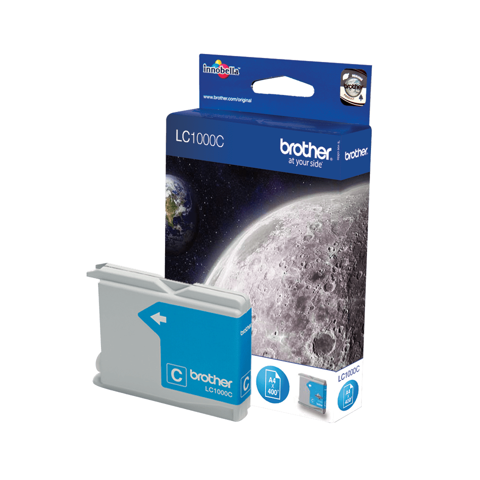 Genuine Brother LC1000C Ink Cartridge – Cyan