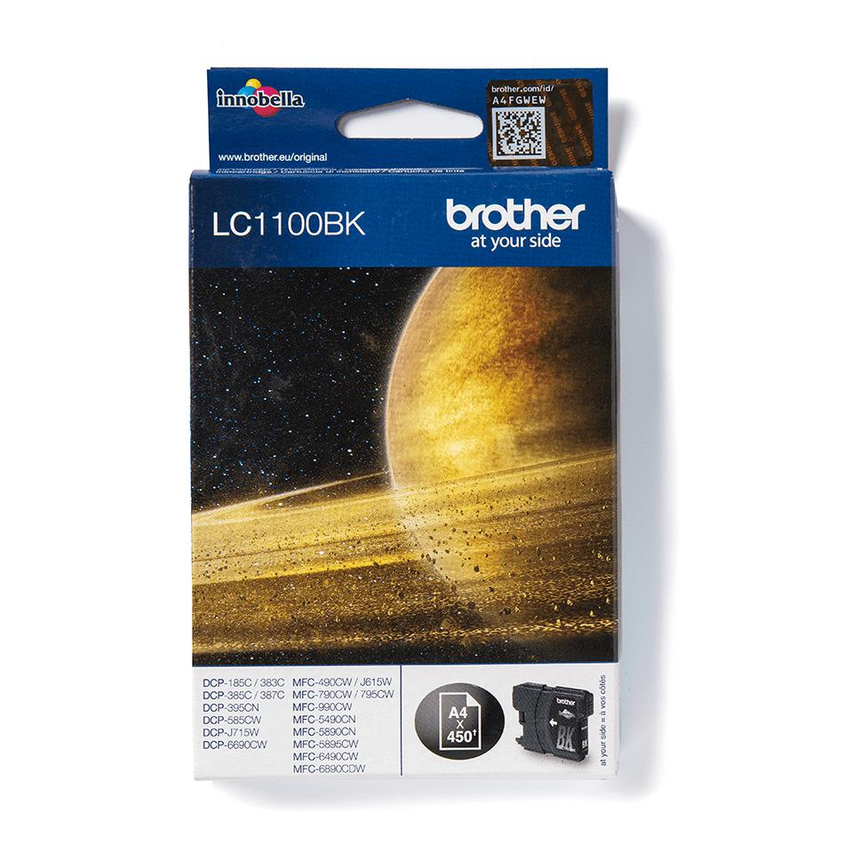 Genuine Brother LC1100BK Ink Cartridge – Black 0