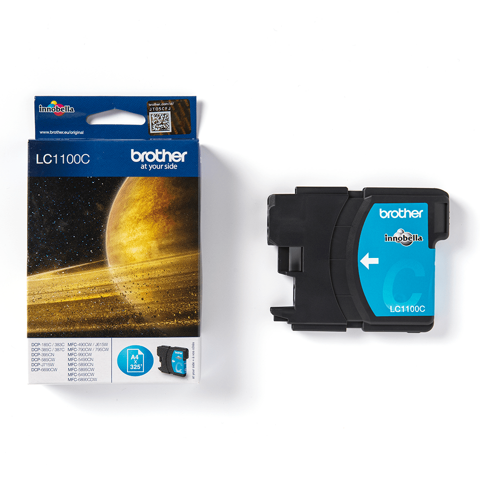 Genuine Brother LC1100C Ink Cartridge – Cyan 2