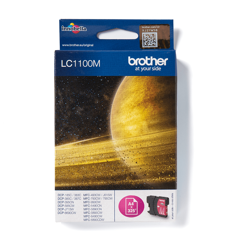 Genuine Brother LC1100M Ink Cartridge – Magenta