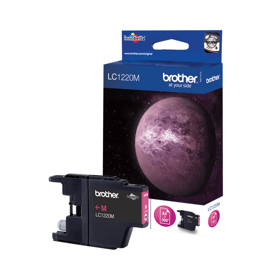 Genuine Brother LC1220M Ink Cartridge – Magenta