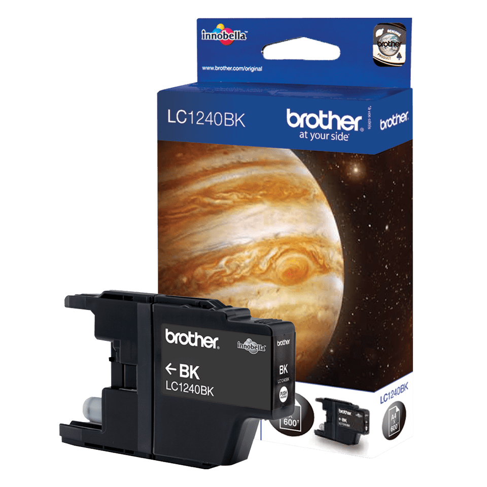 Genuine Brother LC1240BK Ink Cartridge – Black 4