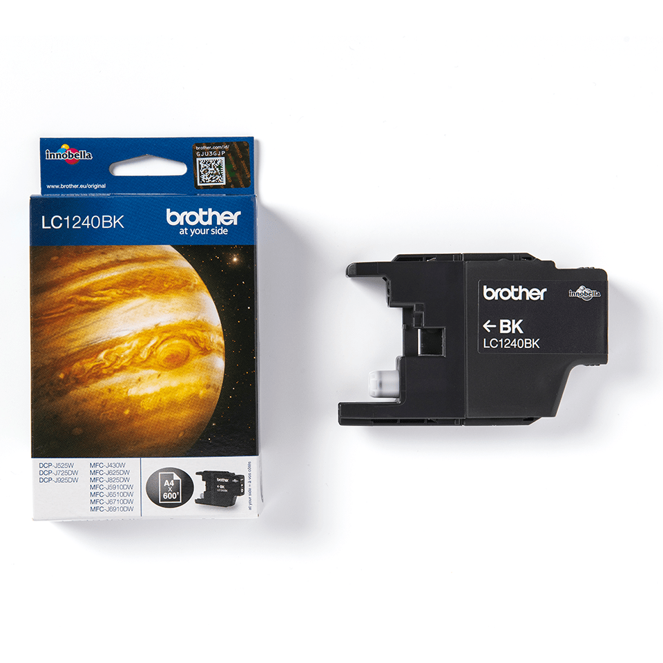Genuine Brother LC1240BK Ink Cartridge – Black 2
