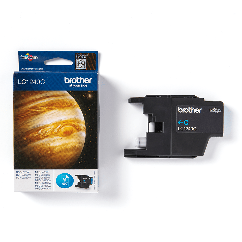 Genuine Brother LC1240C Ink Cartridge – Cyan 2