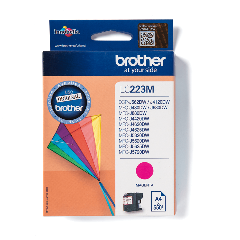 Genuine Brother LC223M Ink Cartridge – Magenta  2