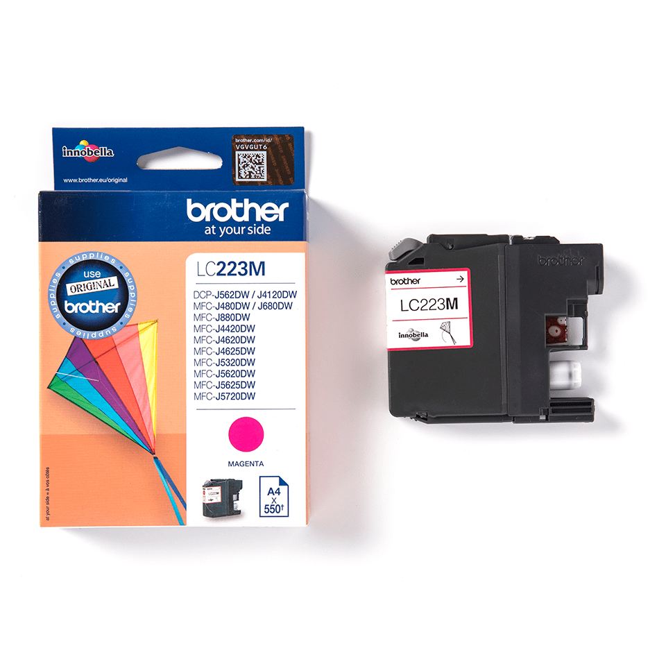 Genuine Brother LC223M Ink Cartridge – Magenta 3