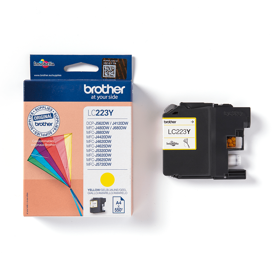 Genuine Brother LC223Y Ink Cartridge – Yellow 3