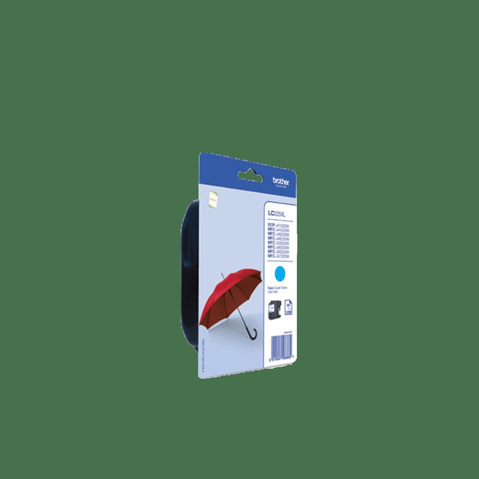 Genuine Brother LC225XLCBP Ink Cartridge – Cyan