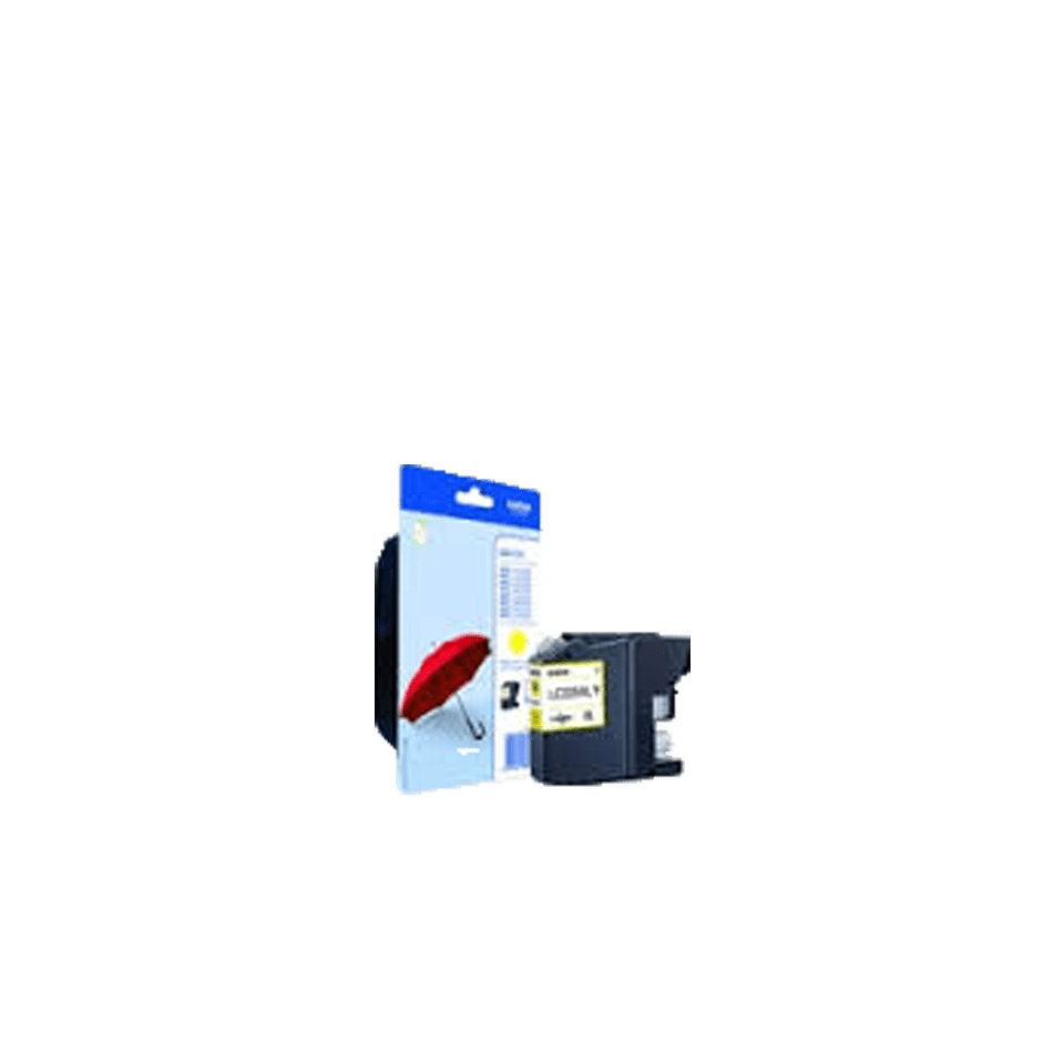 Genuine Brother LC225XLYBP Ink Cartridge – Yellow