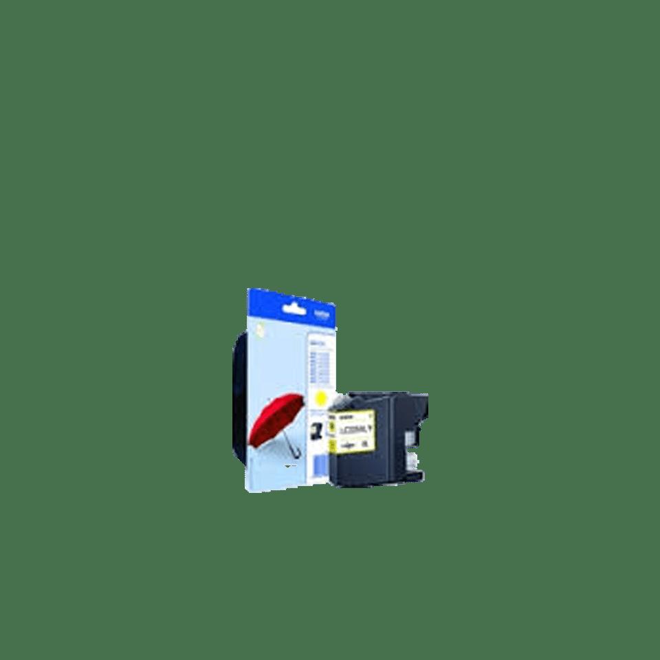 Genuine Brother LC225XLYBP Ink Cartridge – Yellow 0