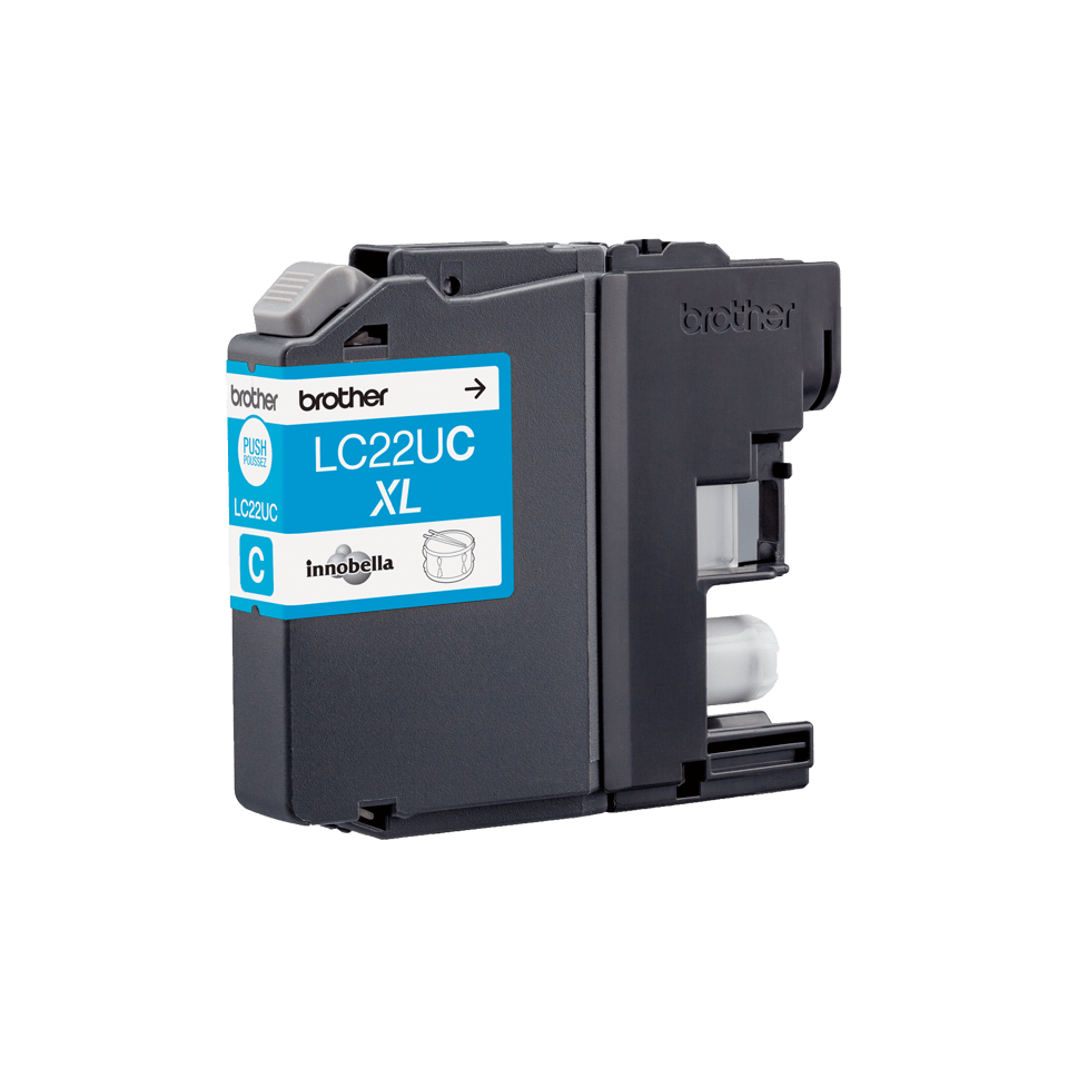 Genuine Brother LC22UC Ink Cartridge – Cyan 3