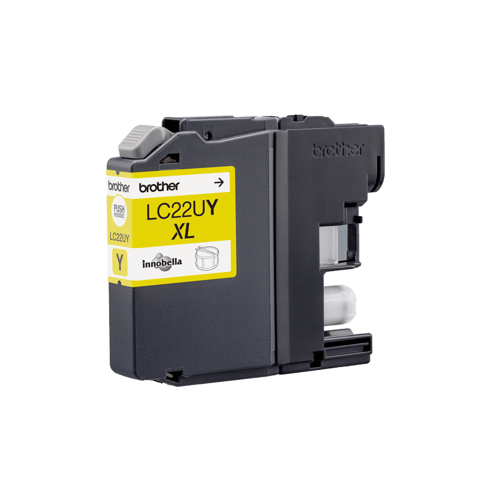 Genuine Brother LC22UY Super High Yield Ink Cartridge – Yellow  1