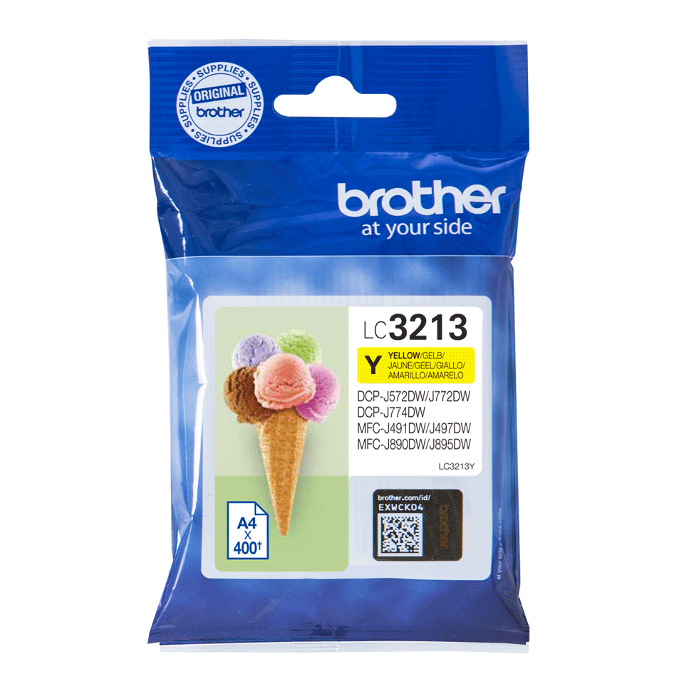 Genuine Brother LC3213Y ink cartridge - yellow 2