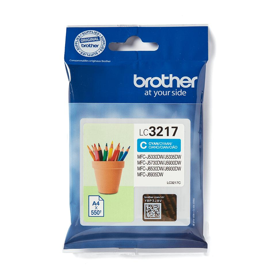 Genuine Brother LC3217C Ink Cartridge – Cyan