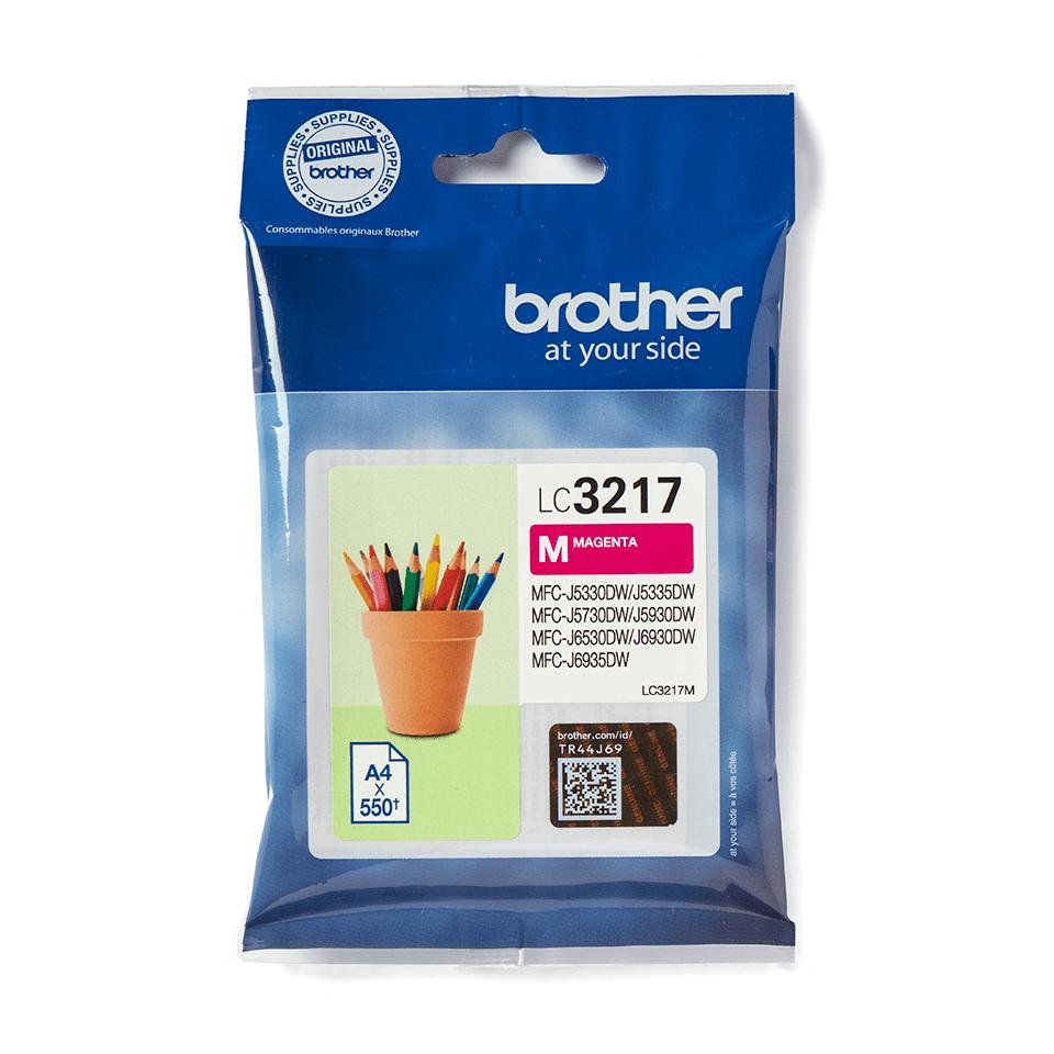 Genuine Brother LC3217M Ink Cartridge – Magenta