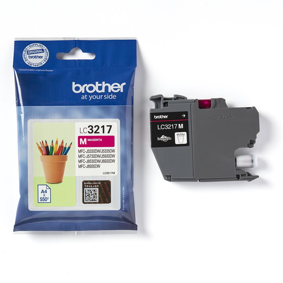 Genuine Brother LC3217M Ink Cartridge – Magenta 3