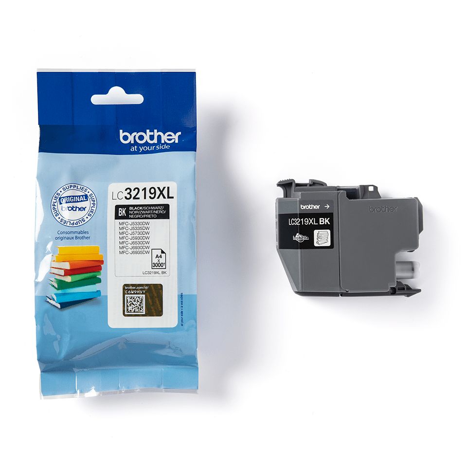 Genuine Brother LC3219XLBK High Yield Ink Cartridge – Black 3